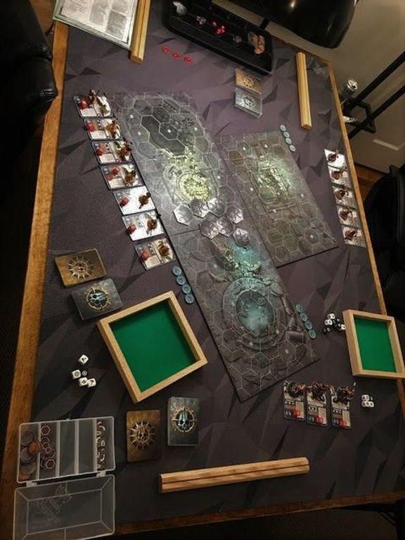 Warhammer Underworlds: Shadespire gameplay