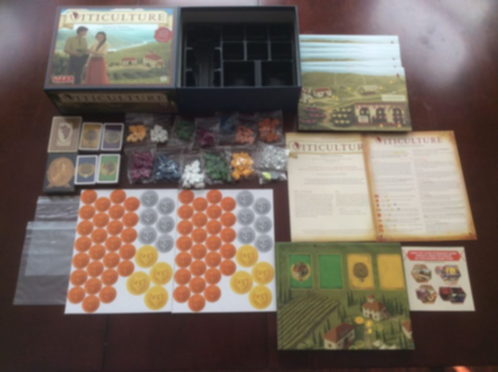 Viticulture Essential Edition components