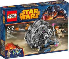 LEGO® Star Wars General Grievous' Wheel Bike