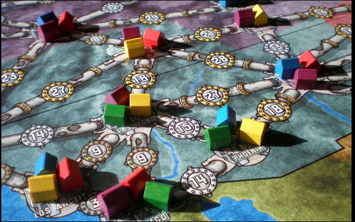 Power Grid gameplay