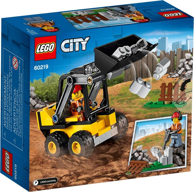 LEGO® City Construction Loader back of the box