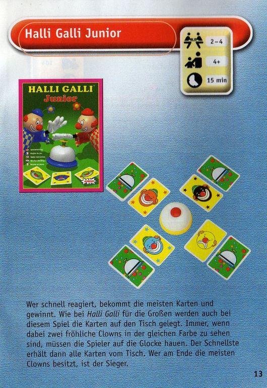 Halli Galli Junior manual