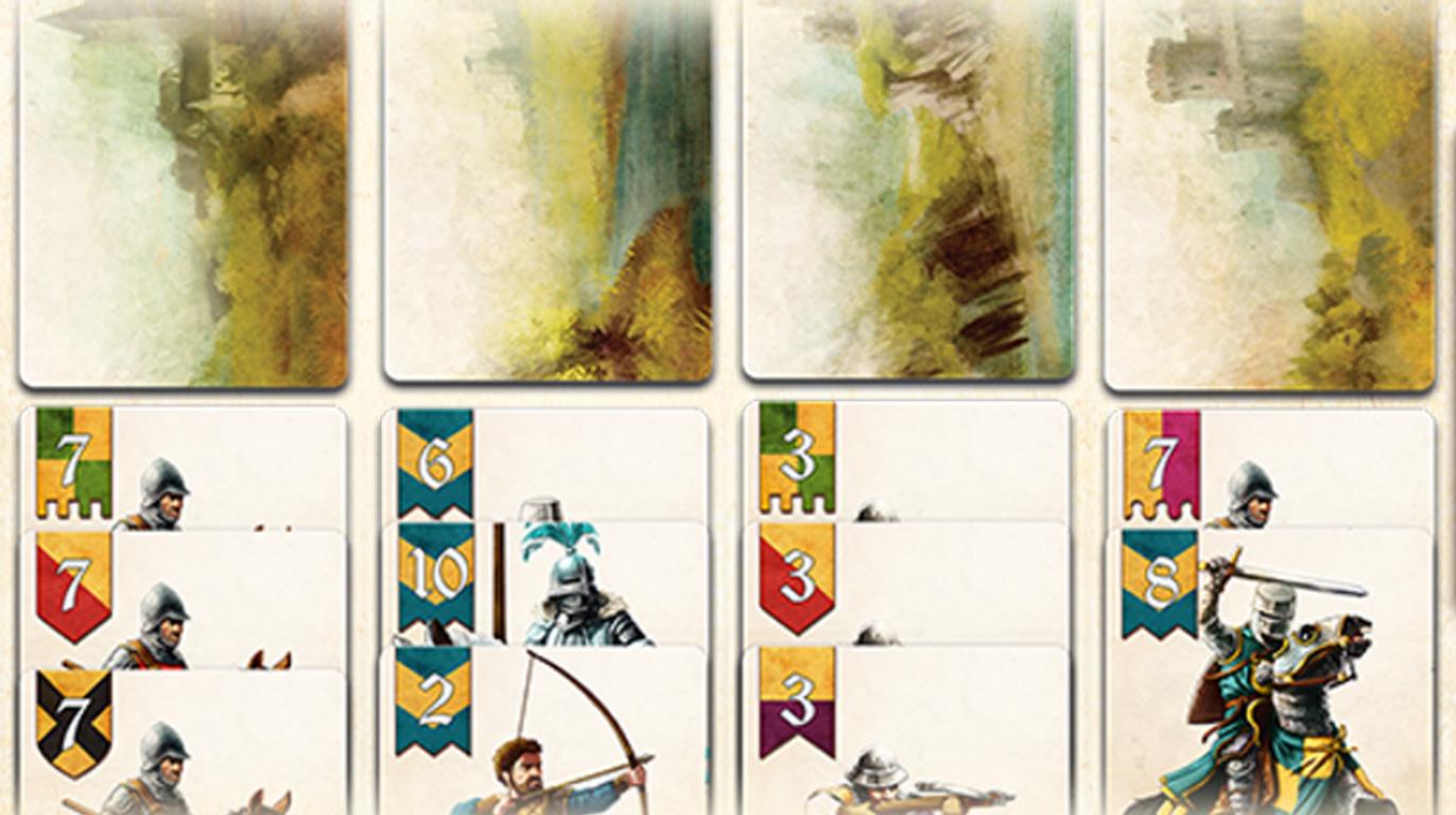 Battle Line: Medieval cards