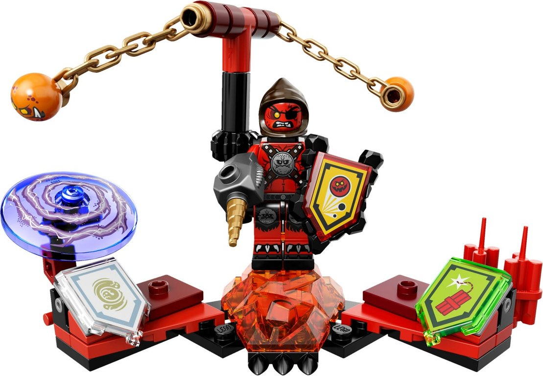 LEGO® Nexo Knights Ultimate Beast Master components