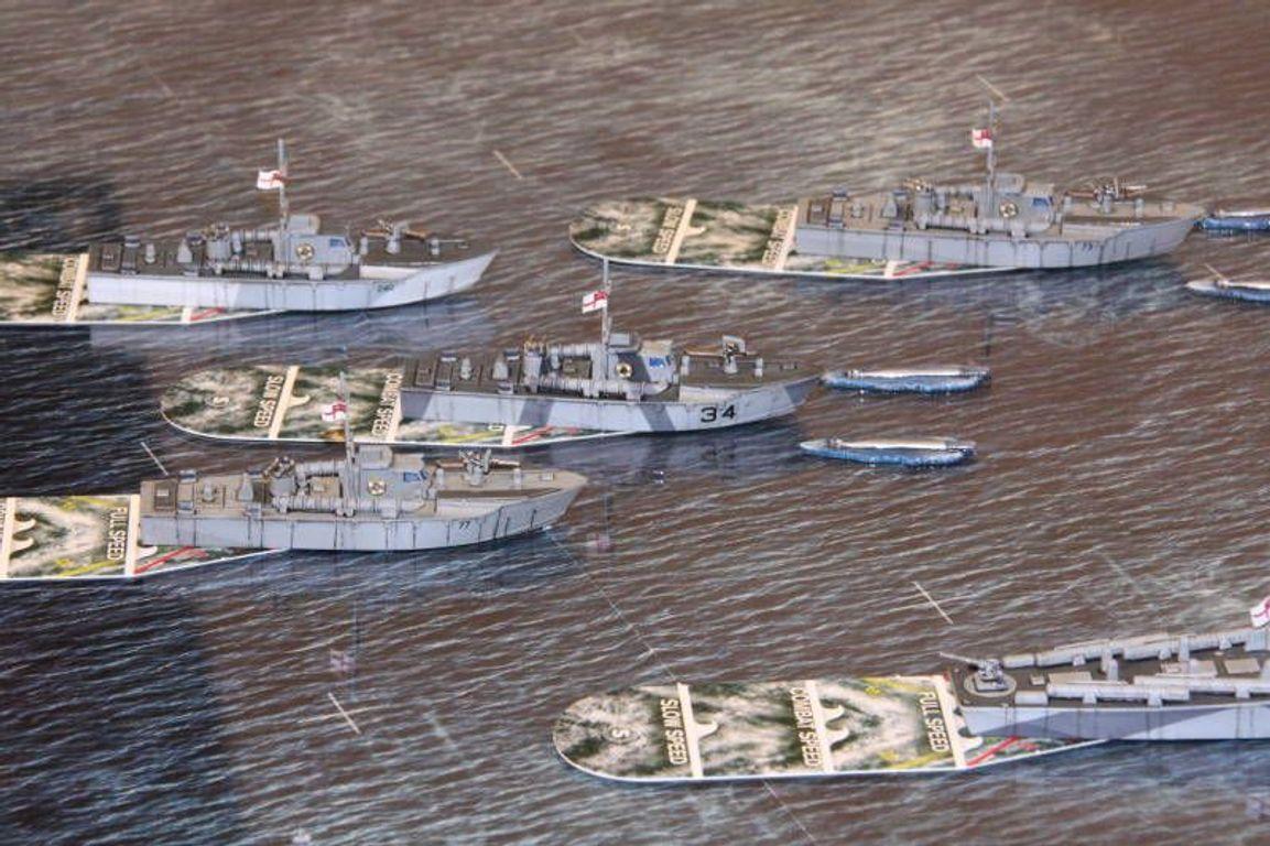 Cruel Seas: Starter Set miniatures