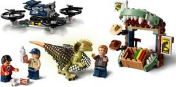 Dilophosaurus on the Loose minifigures