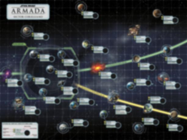 Star Wars: Armada - The Corellian Conflict game board
