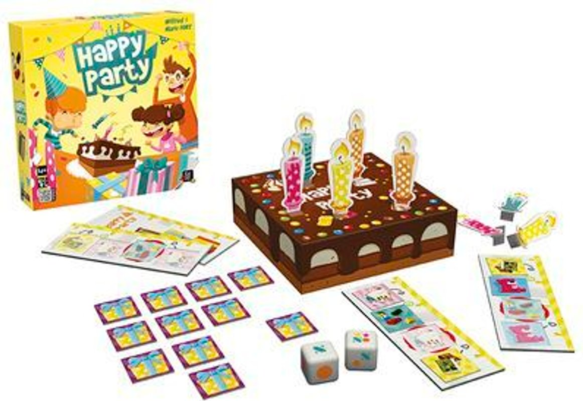 Happy Party components