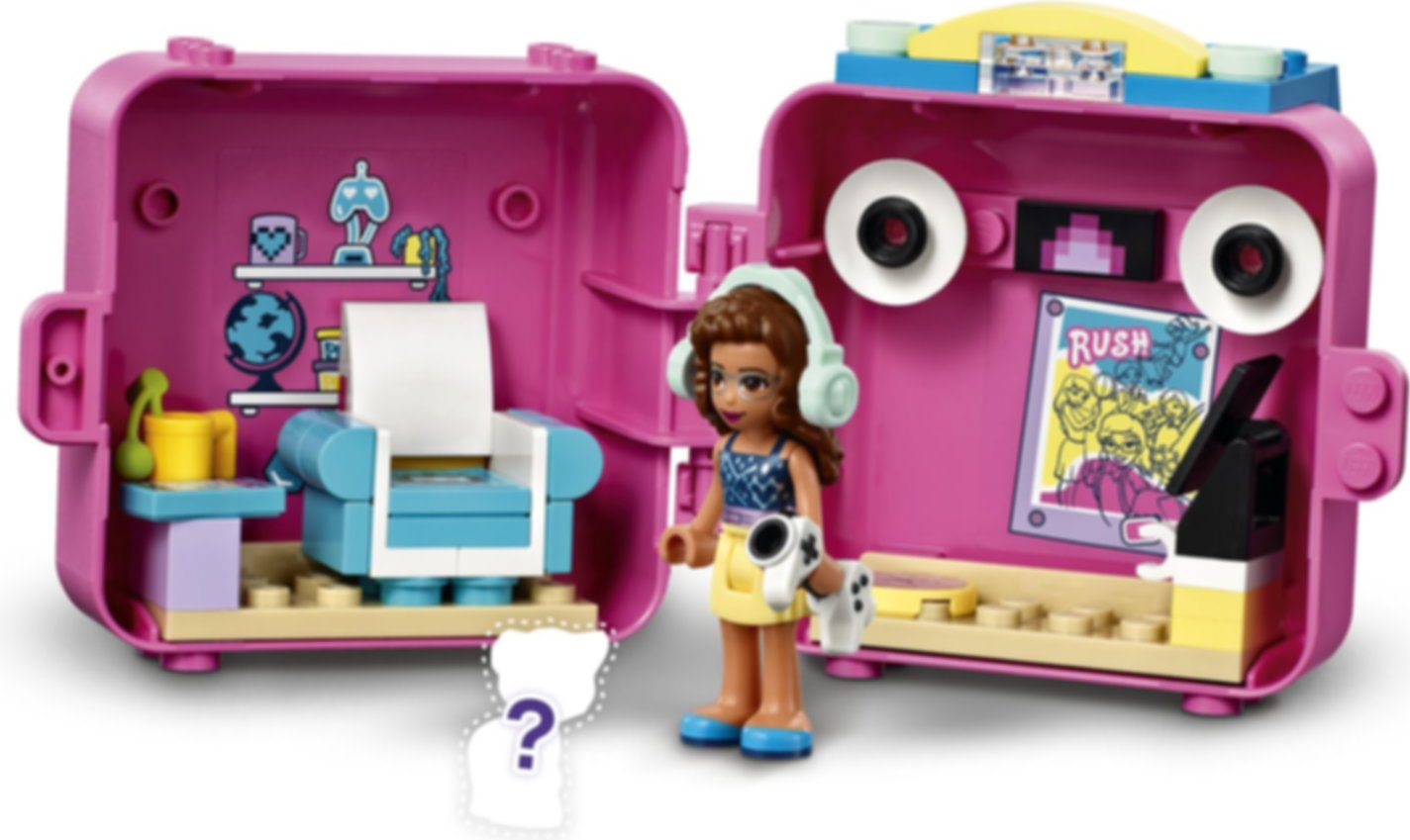 LEGO® Friends Olivia's Gaming Cube gameplay