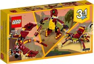 LEGO® Creator Mythical Creatures back of the box
