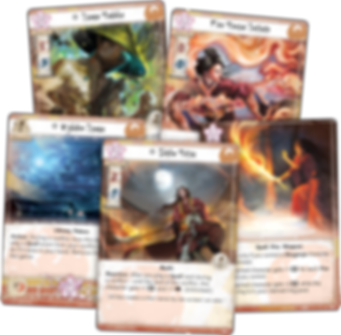 Legend of the Five Rings: The Card Game - Disciples of the Void cards