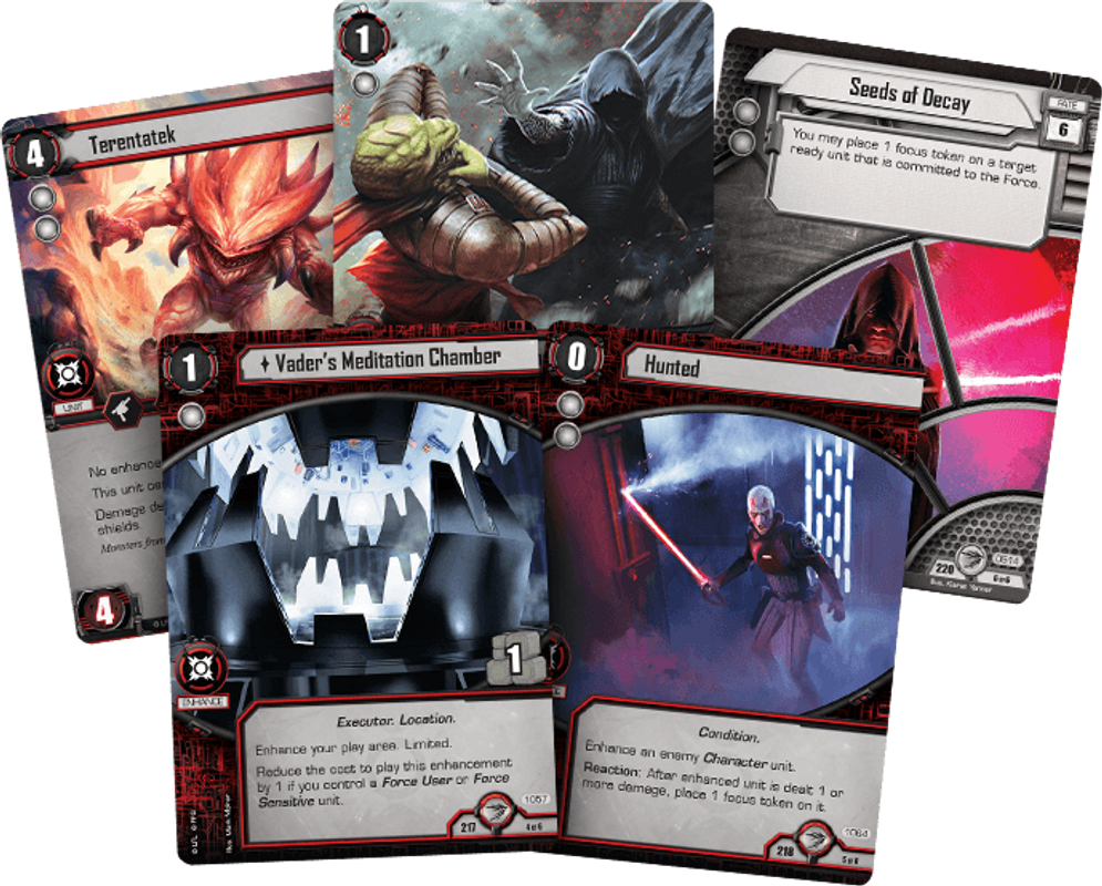 Star Wars: The Card Game - Galactic Ambitions cards