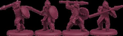 A Song of Ice & Fire: Tabletop Miniatures Game – Targaryen Unsullied Pikemen miniatures