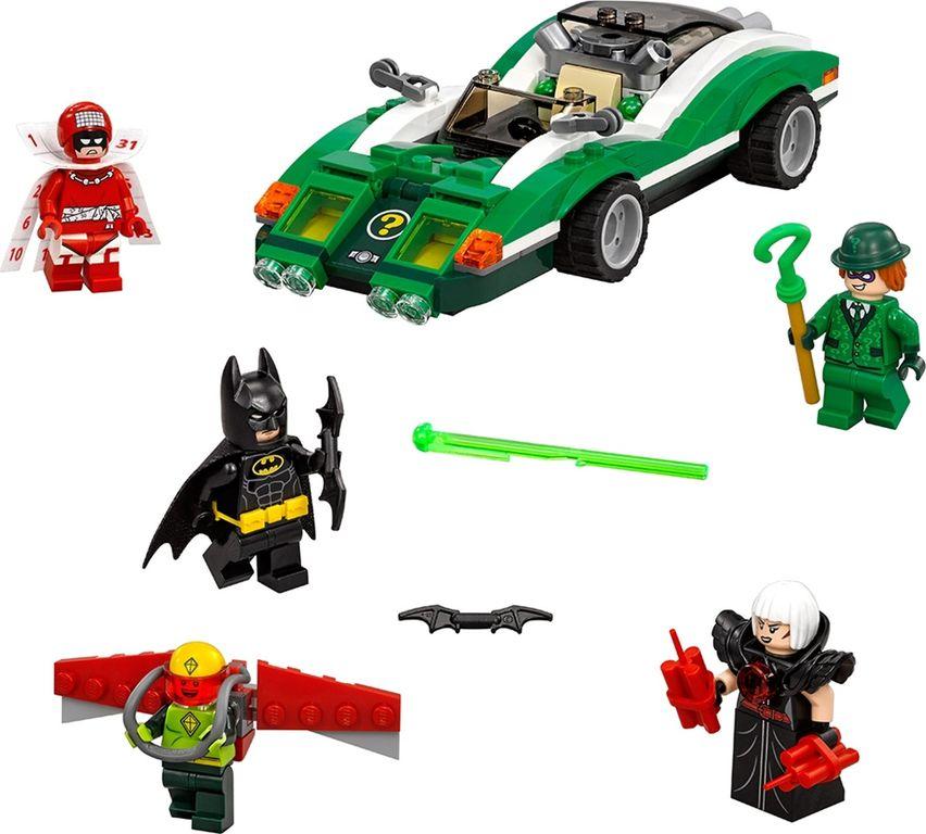 LEGO® Batman Movie The Riddler™ Riddle Racer components