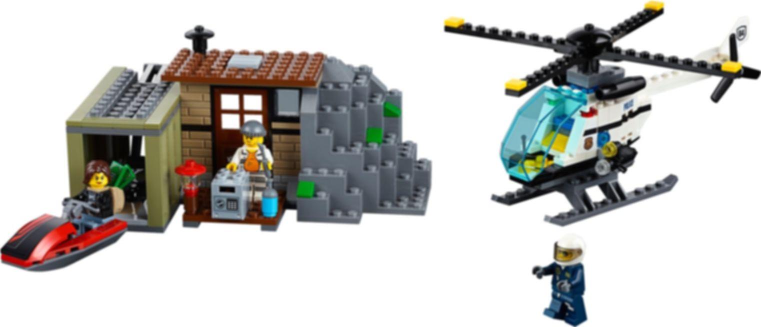 LEGO® City Crooks Island components