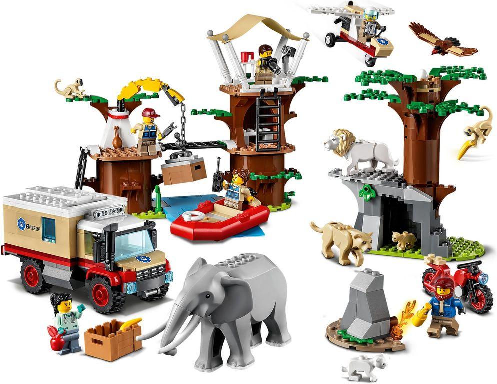 LEGO® City Wildlife Rescue Camp gameplay