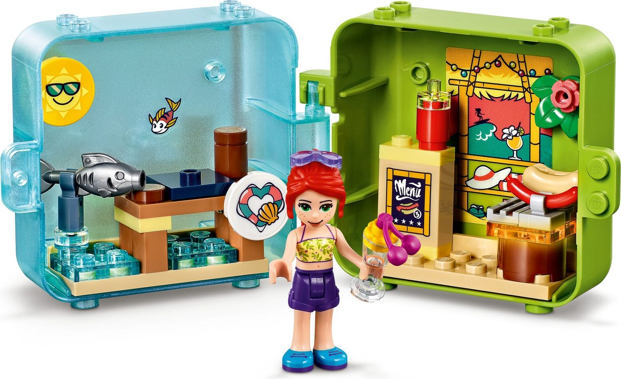 LEGO® Friends Mia's Summer Play Cube components