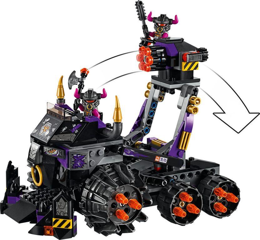 LEGO® Monkie Kid Iron Bull Tank gameplay