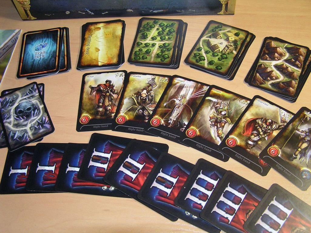 Assault on Doomrock cards