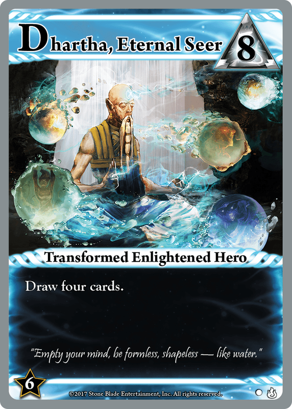 Ascension: Gift of the Elements cards