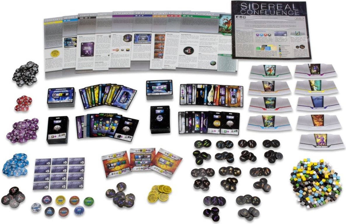 Sidereal Confluence components