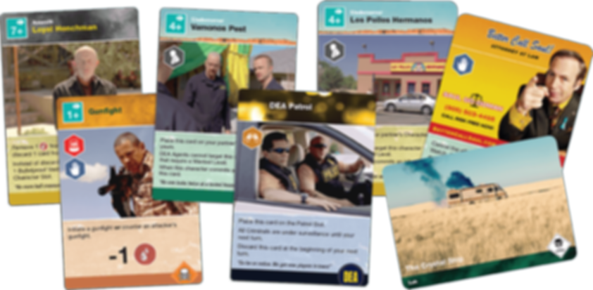 Breaking Bad: The Board Game cards