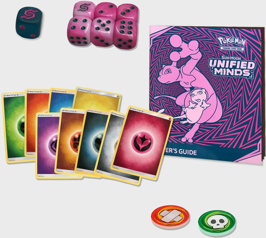Pokemon Sun & Moon - Unified Minds Trainerbox components
