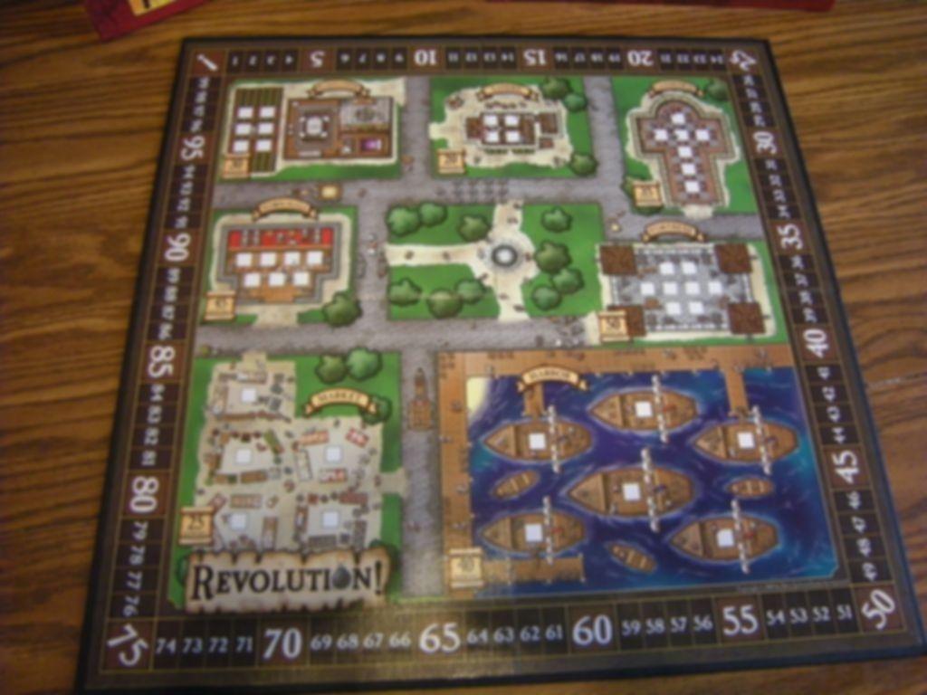 Revolution! game board