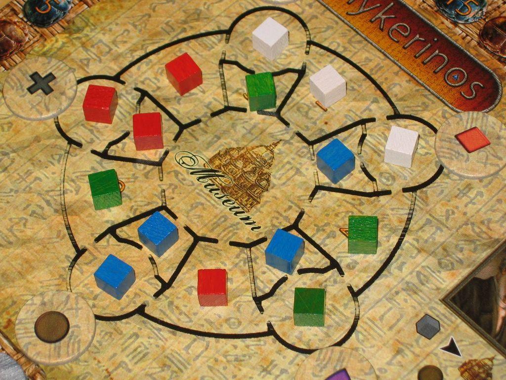 Mykerinos game board