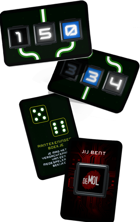 De Mol: De code-opdracht cards