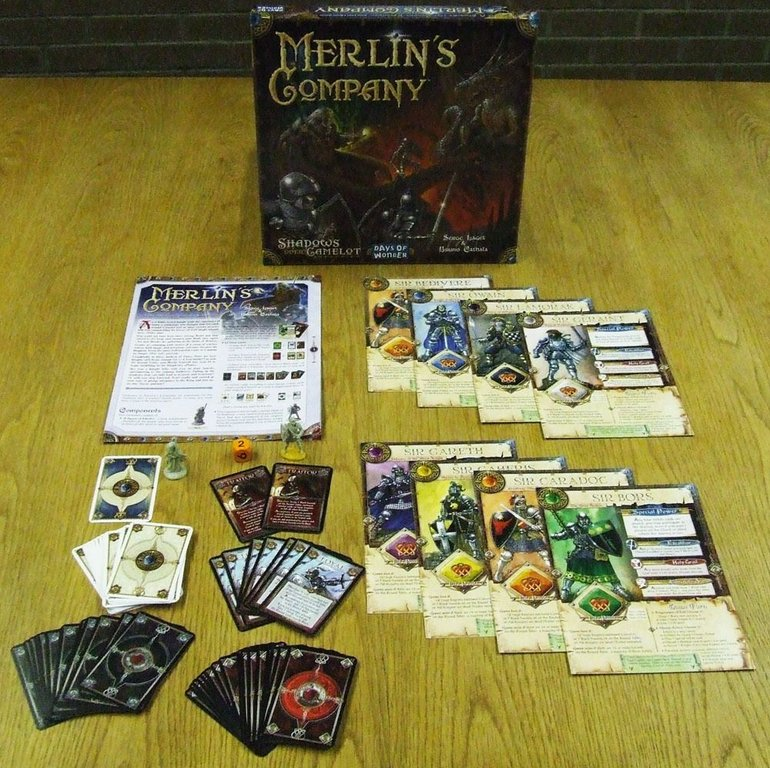 Shadows over Camelot: Merlin's Company components