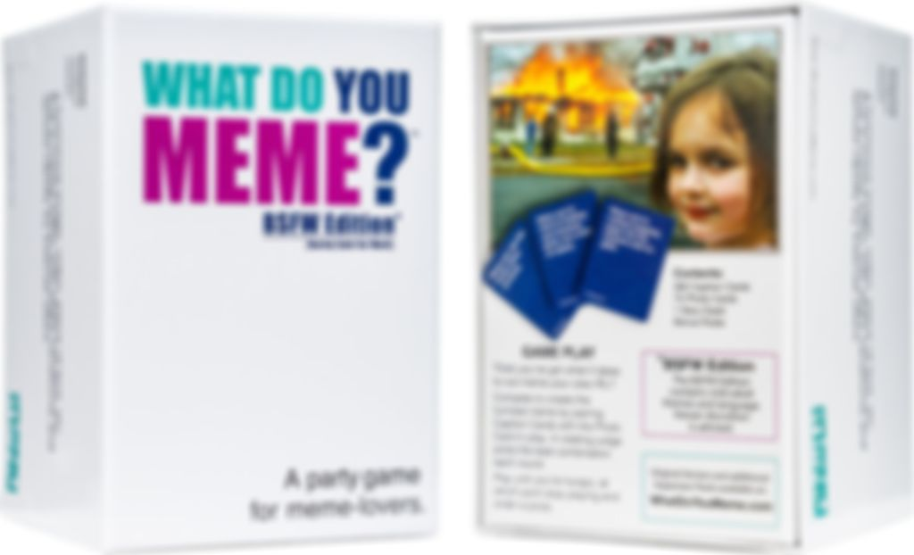 What Do You Meme?: A Millennial Card Game For Millennials And Their Millennial Friends box