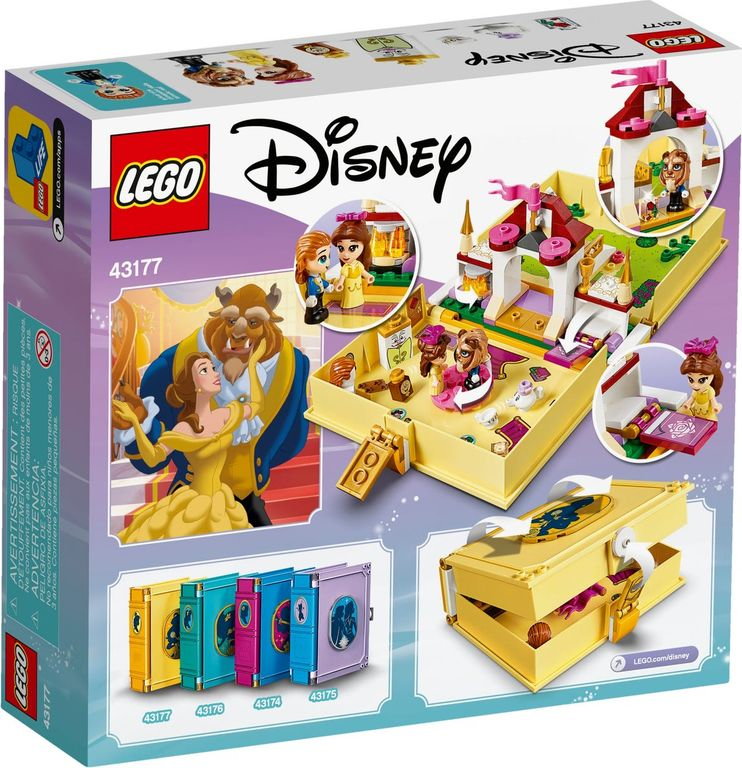 LEGO® Disney Belle's Storybook Adventures back of the box