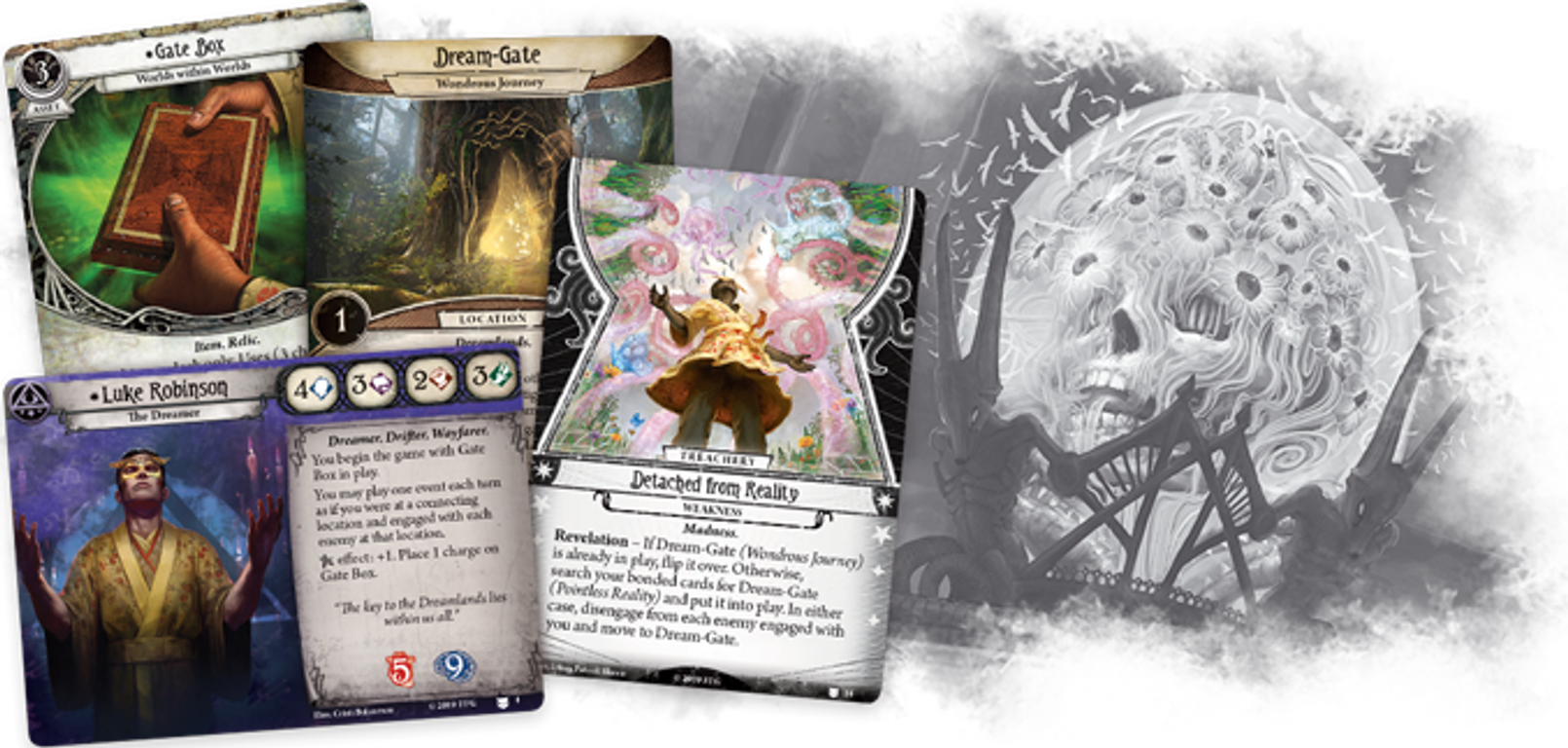 Arkham Horror: The Card Game - The Dream-Eaters: Expansion cards