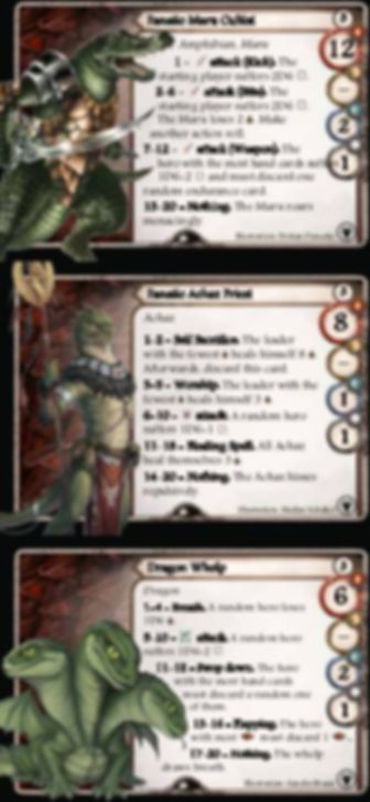 Aventuria: Tears of Fire cards