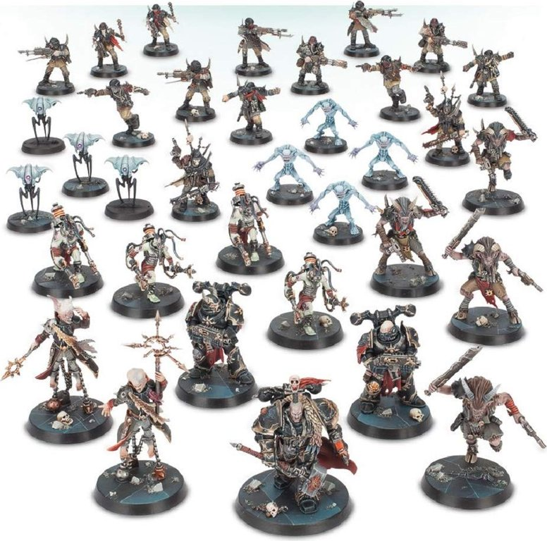 Warhammer Quest: Blackstone Fortress miniatures