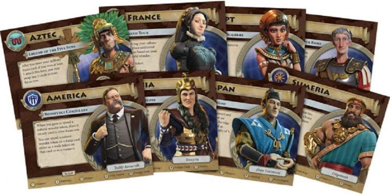 Sid Meier's Civilization: A New Dawn cards