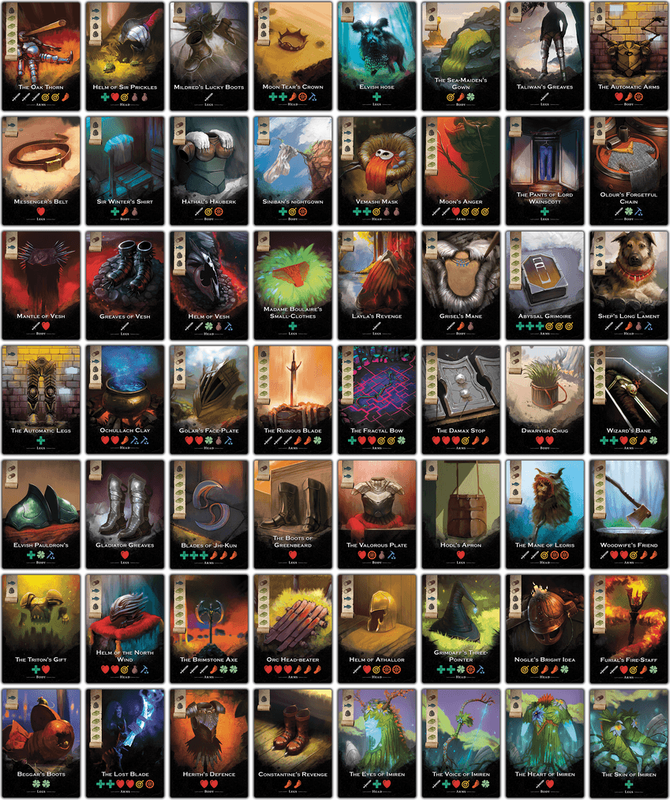 The City of Kings cards