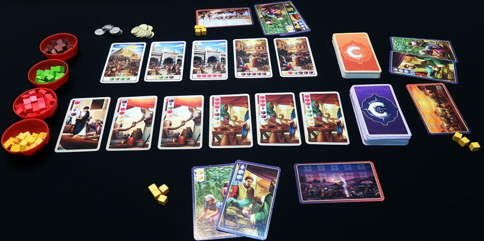 Century: Spice Road components