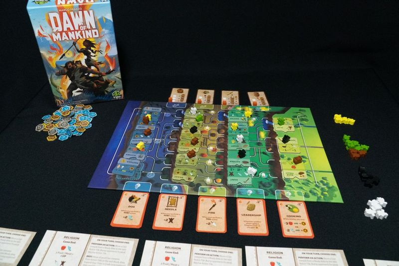 Dawn of Mankind components