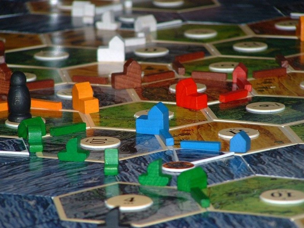 Catan: Seafarers - 5-6 Player Extension components