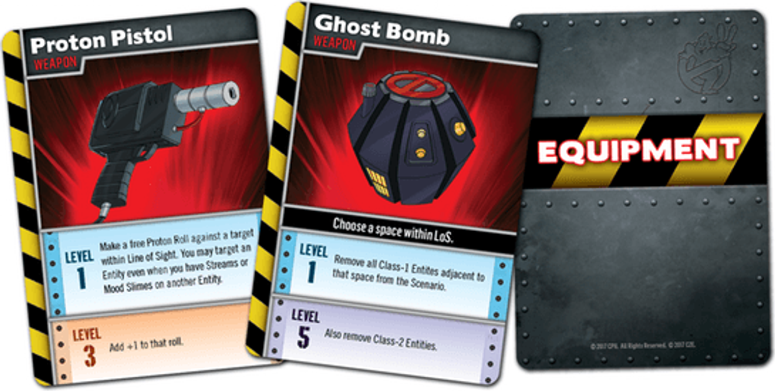 Ghostbusters: The Board Game II cards