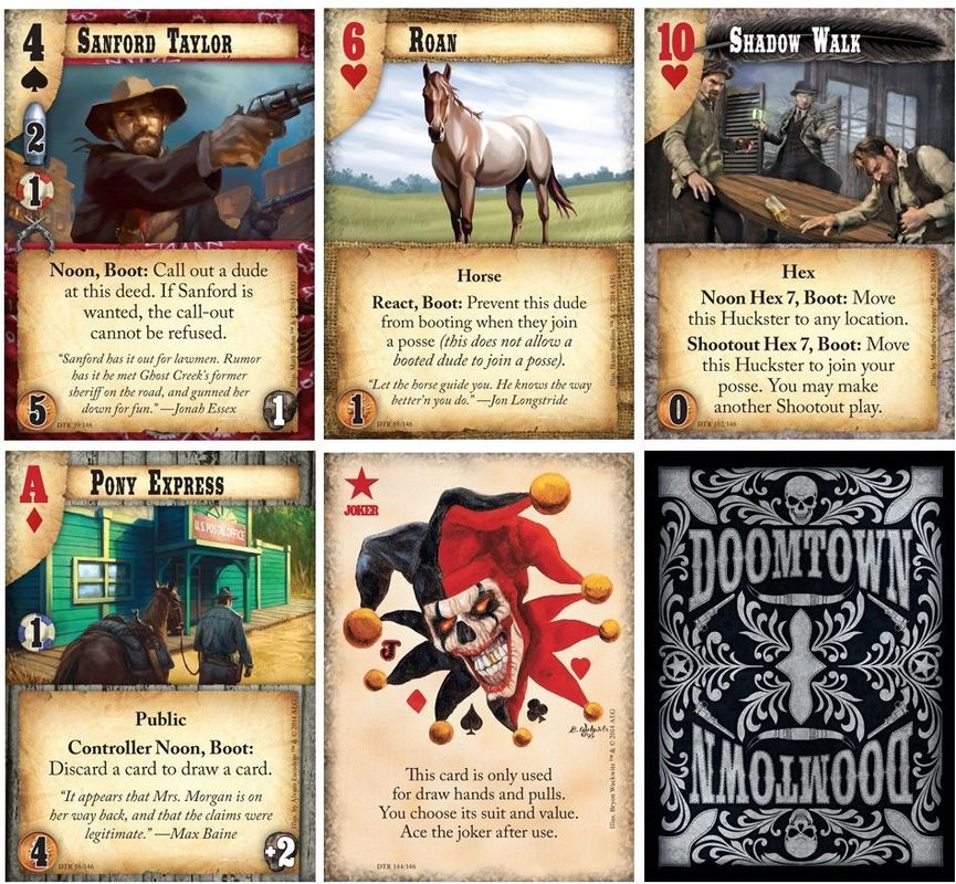 Doomtown: Reloaded cards
