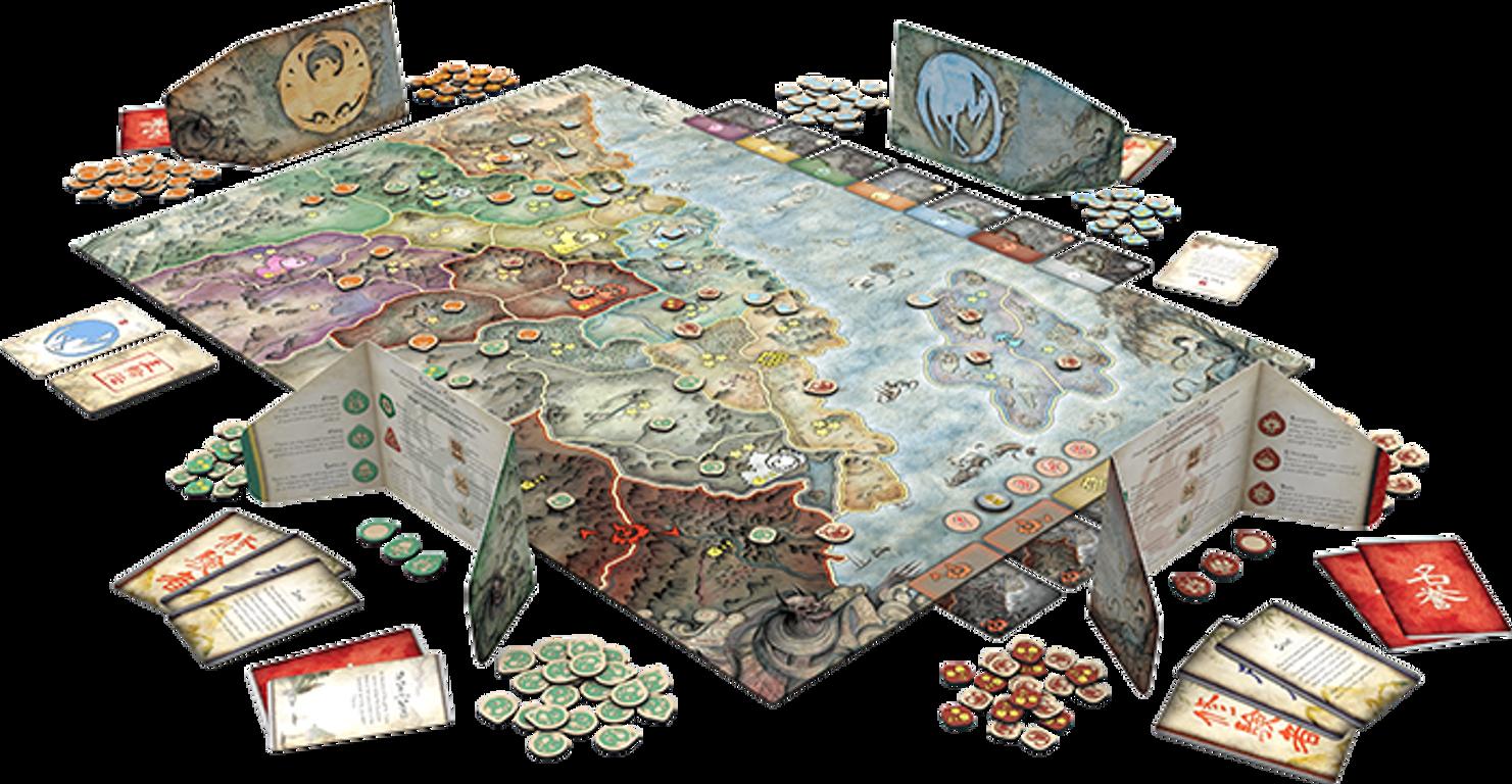 Battle for Rokugan components