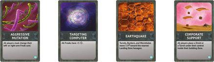 Space Freaks cards
