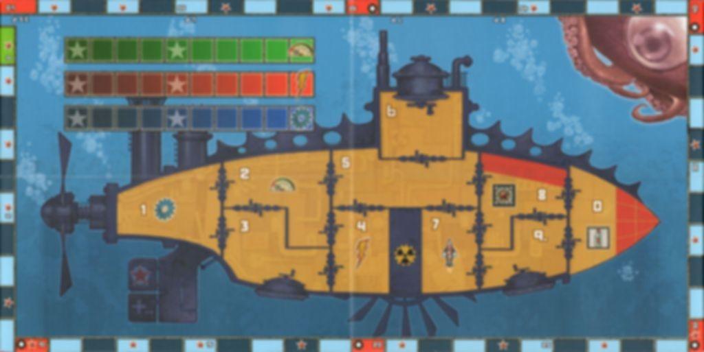 Red November game board