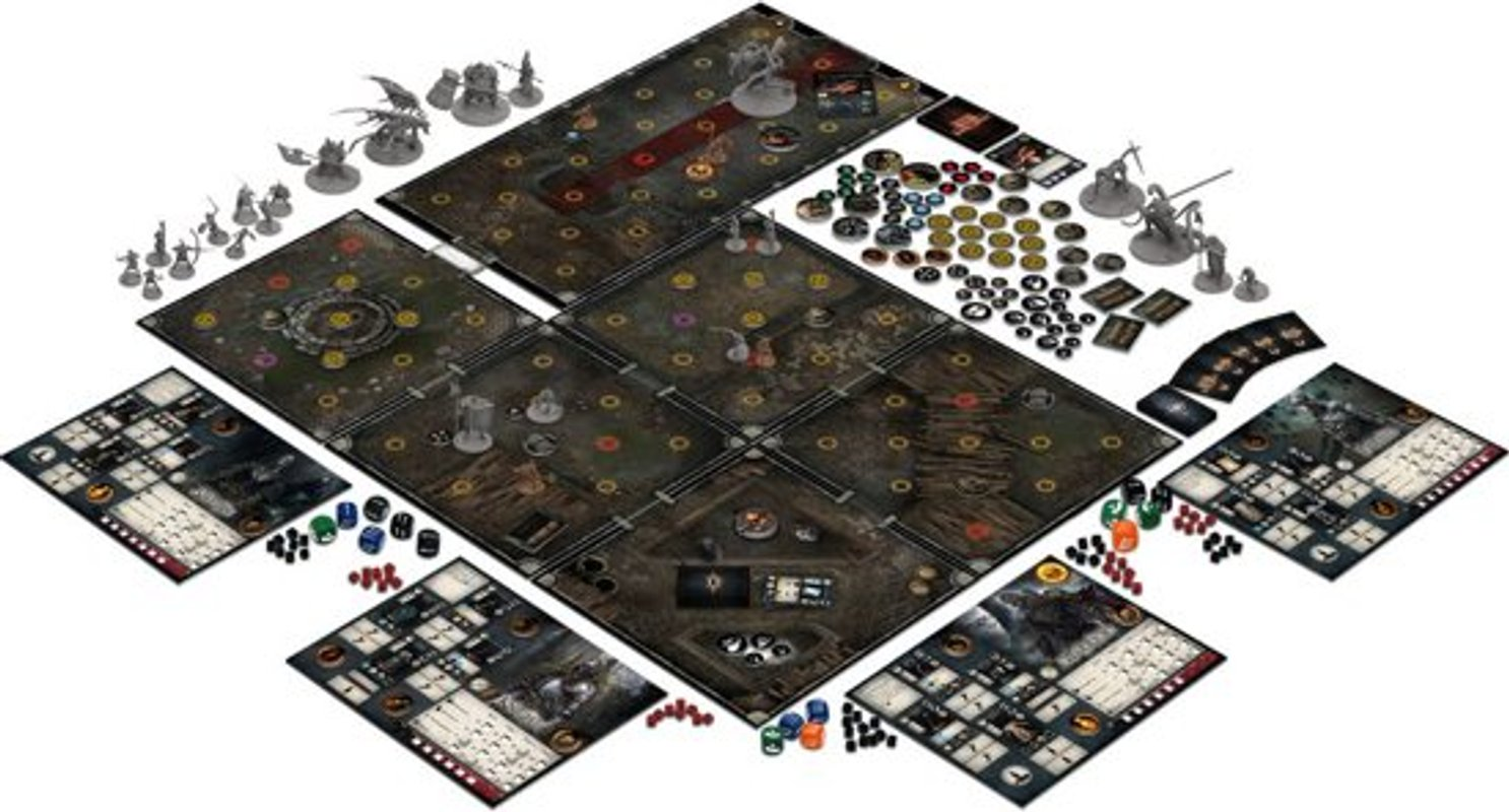 Dark Souls: The Board Game components