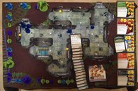 Dungeons & Dragons: The Legend of Drizzt game board