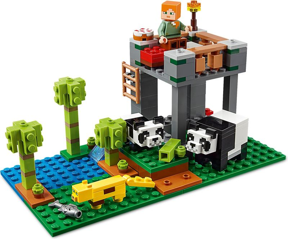 LEGO® Minecraft The Panda Kindergarten components