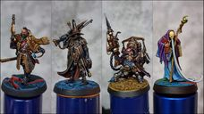Warhammer Quest: Cursed City miniatures